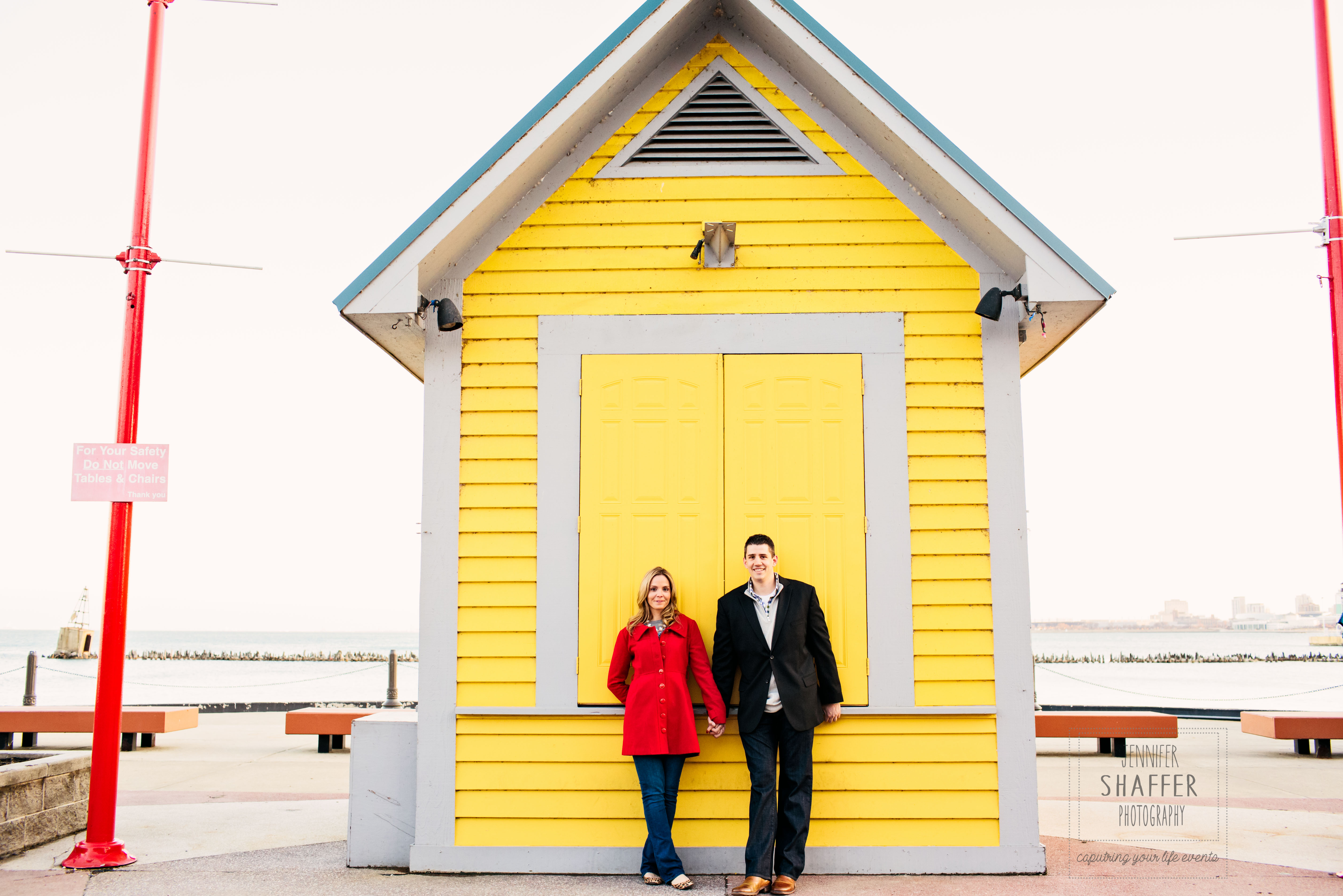 Kelly & Chris Navy Pier Engagement Session
