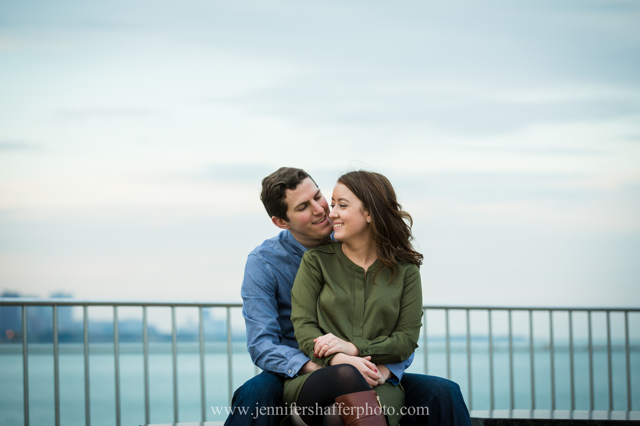Meghan + Terry – downtown Chicago engagement session