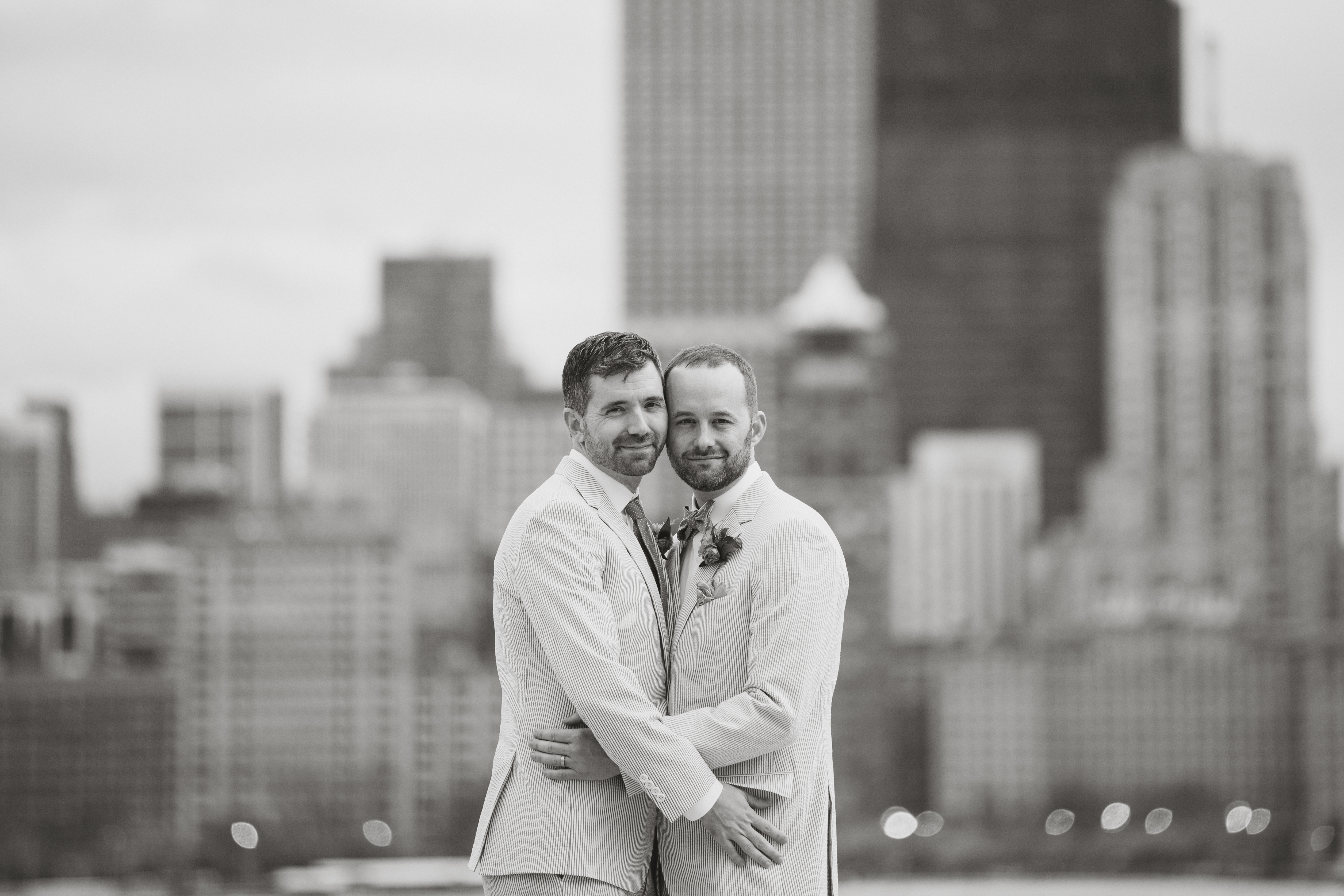 Toby and Brian – Spring Chicago wedding at Kaiser Tiger